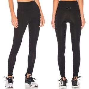 Beyond Yoga Shirred Ruched Tie High Rise Leggings